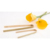New Design Kitchen Utensil High Quality Bamboo Food Tongs