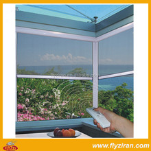 Electric automatic anti-mosquitoes Roll Up insect projection Window screens