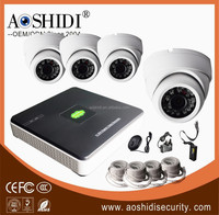 High quality 4CH NVR camera kit,ip poe camera kits ,1080p cheap cctv camera kit
