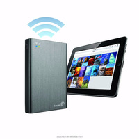 external hard drive 2tb Seagate Wireless Plus 2TB Portable Hard Drive with Built-in WiFi (STCV2000100)