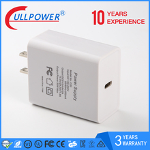 Type C 3.0 USB wall charger Type-C 3.0 USB travel charger 30W single port usb home PD function charger