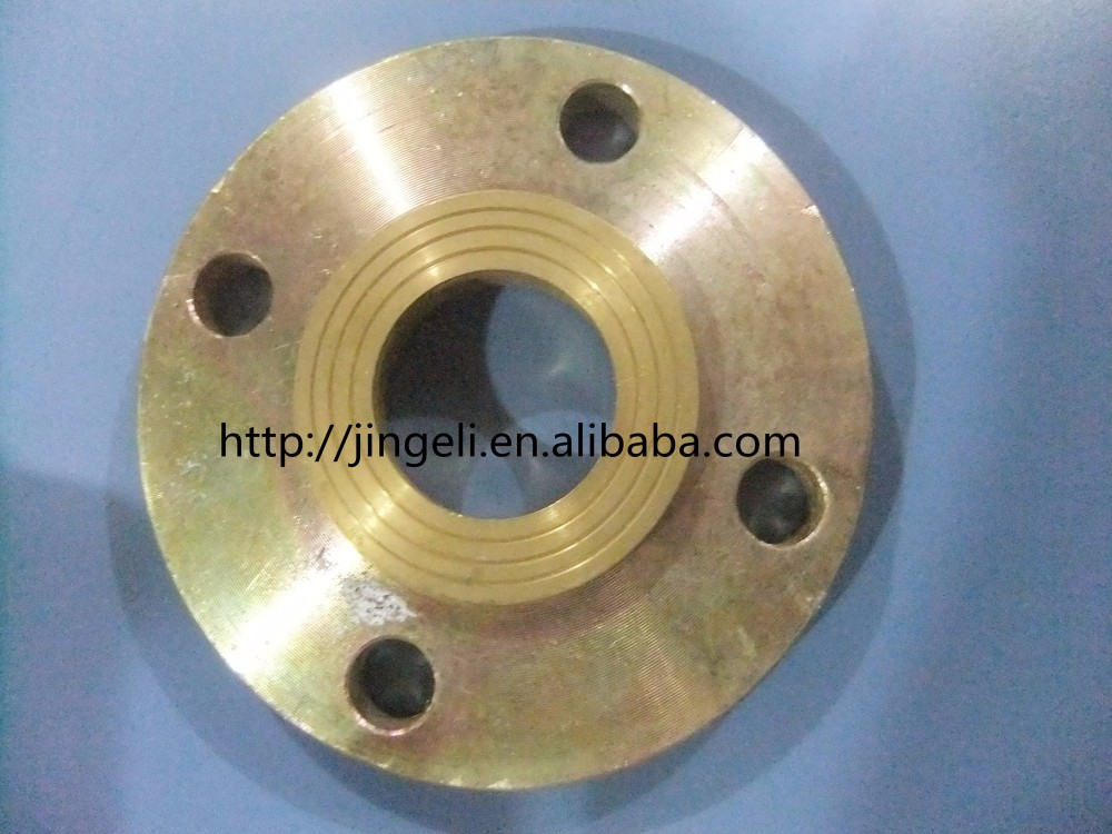 "Threaded Pipe Flange 2 1/2"" 150# B16.24 Cast Copper Alloy"