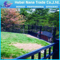 High Quality Metal Garden Fence , Stainless Steel Fence , Designs For Steel Fence