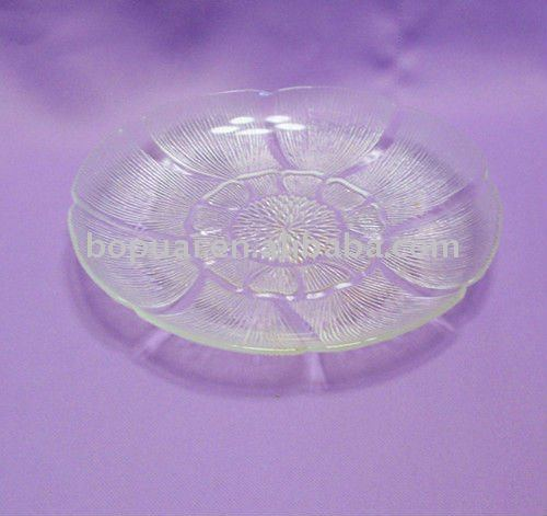 frosted glass plate