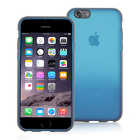 Snugg case for iPhone 6 Plus Sheer Flex Case in Blue