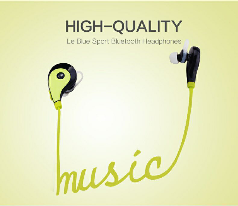 Wifi Earphone factory selling fashionable sport headphones with built in fm radio best in ear headphones for running