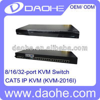 16 Ports Cat5 KVM Switch Over