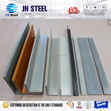 construction material with holes punch cross arms L channel steel angle iron standard