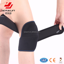 Adjustable warming and pressing knee pad, self heating knee brace