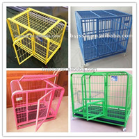 Stainless Steel Dog Cage/Dog Crate with wheel