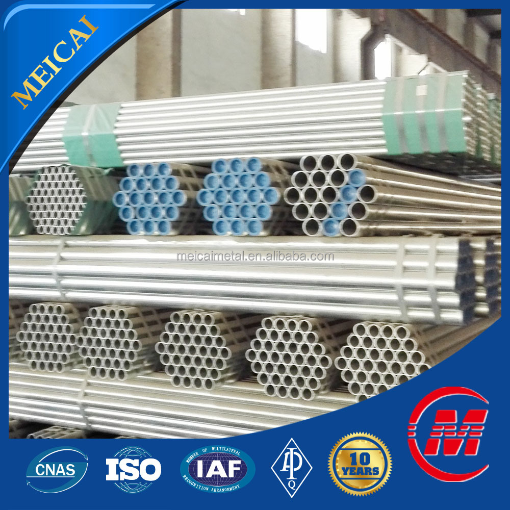 galvanized steel pipe structural material for construction