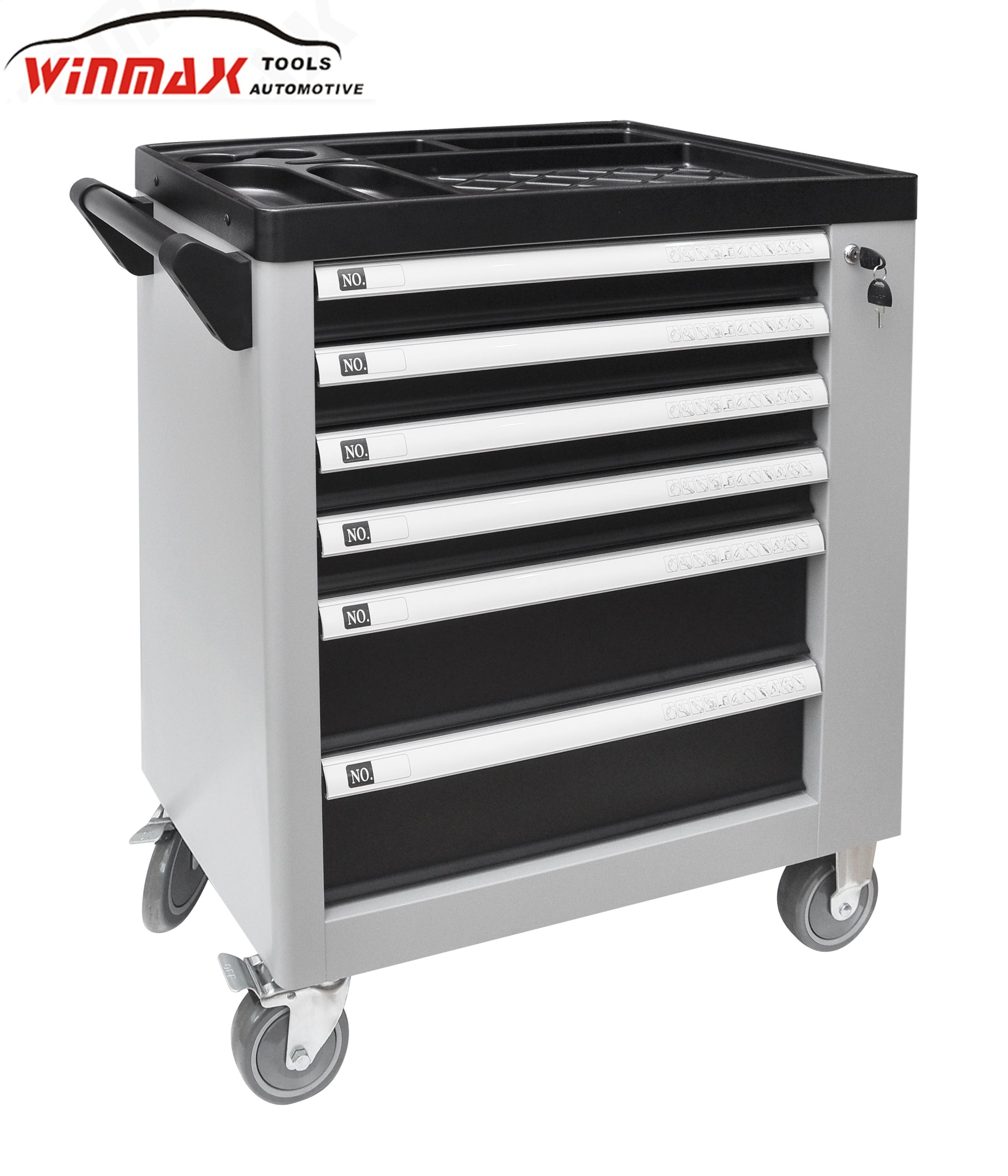 New Dsign 6 Drawers Roller Tool Cabinet With Tools Sets