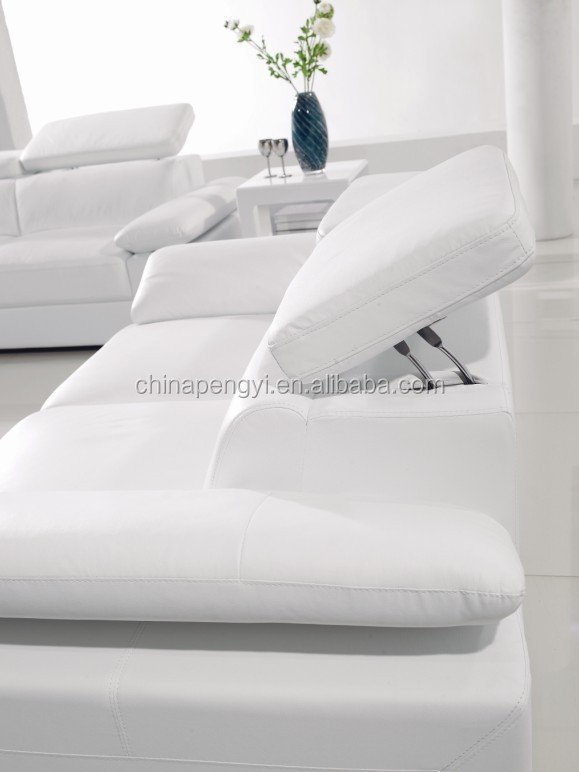 Modern living room cheap 100% top grain genuine leather 2014 latest sofa design living room sofa