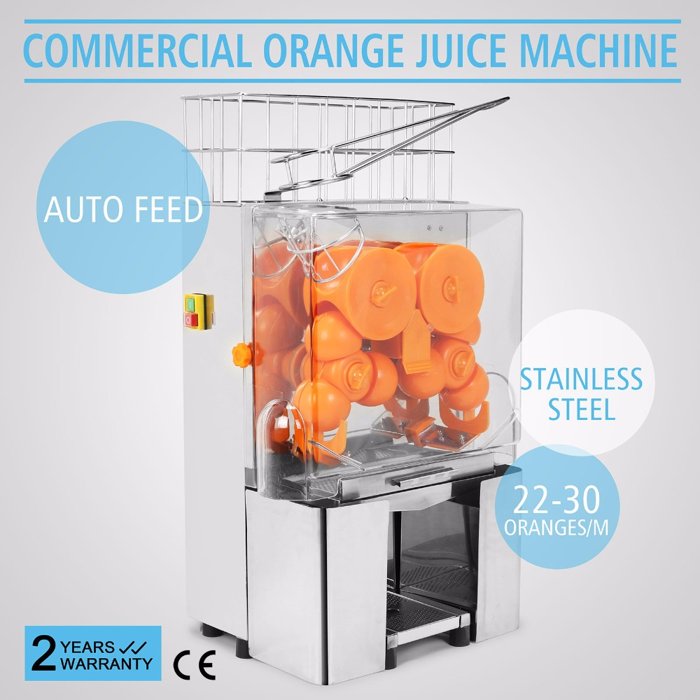 Electric Commercial Auto Feed <strong>Orange</strong> Lemon Squeezer Juicer Machine
