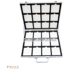 New Design Black Aluminum,Quartz Stone,Marble,Granite Tile Sample Display Case