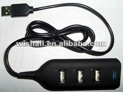 4 port usb hub 2.0 with extension cable