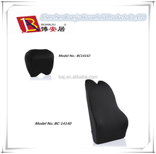 Car seat back support memory foam cushion