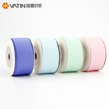 Product Unique Perfume Bottle Use DIY Material Decorative Custom Grosgrain Ribbon
