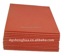 Silicone rubber pad for heat transfer machine
