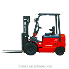 Reliable DC 2.0-3.0T balance weight type electric forklift truck