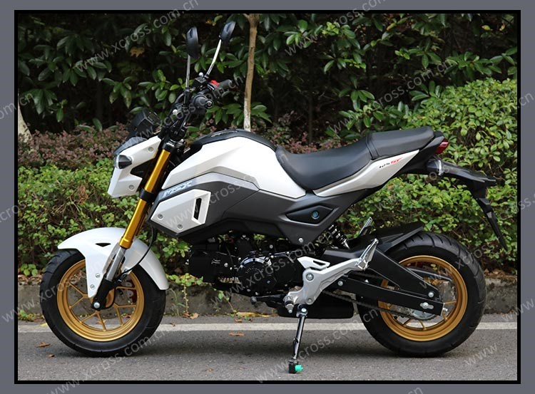 2017 msx sf new monkey bike 125cc super pocket bike motorcycles mini motos motocicletas motobike. Black Bedroom Furniture Sets. Home Design Ideas
