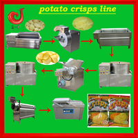 fully automatic 304 stainless steel industrial banana chips making machines