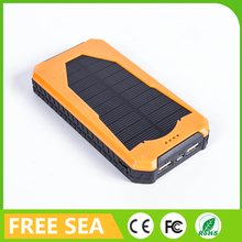 Hottest seller waterproof solar power bank for laptop notebook charger