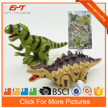 Plastic wind up walking dinosaur animal toys for promotion