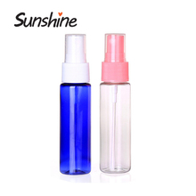 PET plastic cosmetic empty container 30ml spray bottle of perfume