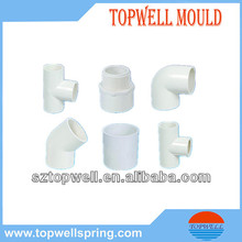 hydraulic moulds for plastic PVC pipes components
