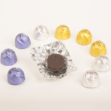 Food Grade Gold Color Aluminum Foil For Chocolate wrapping