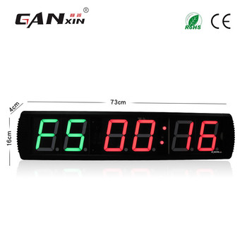 [GANXIN]2019 6 Digits tabata Timer with countdown function