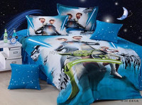 star war 205TC 100% cotton cartoon bedding for kids