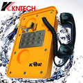 KNTECH KNSP-11 Mining IP66 Waterproof Telephone Full Keypad Emergency Telephone without Door