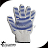 SRsafety 7G cotton hand protect gloves colored cotton gloves,cotton winter working gloves
