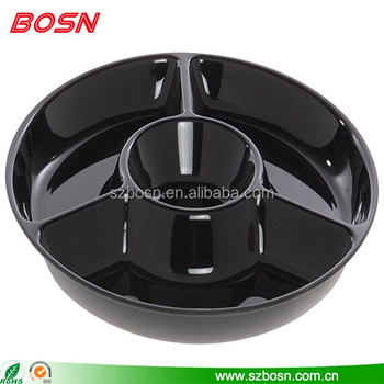 high quality acrylic food display tray acrylic food stand
