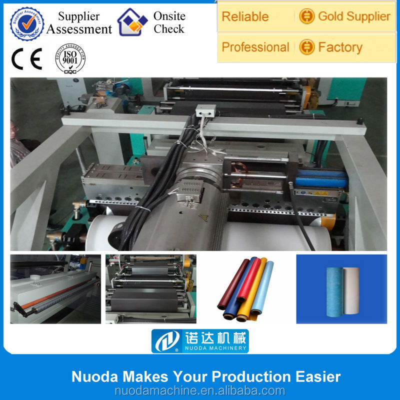 mini cpp cpe plastic film embossed print machine