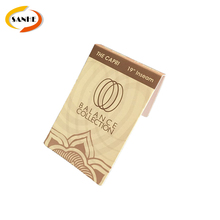 China Wholesale Cardboard Labels Paper Hang Tag For Clothing/Shoes/Bag