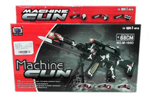 popular in market ABS funny scale plastic model guns with EN71