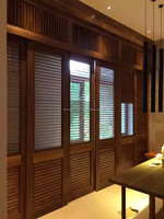 Customize antique wood basswood plantation shutter furniture supplies from china