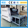 carton semi-auto printing slotting die cutting machine