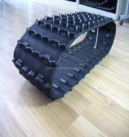 rubber spare parts used for amphibious atv/Snowmobile/utv,rubber track classis