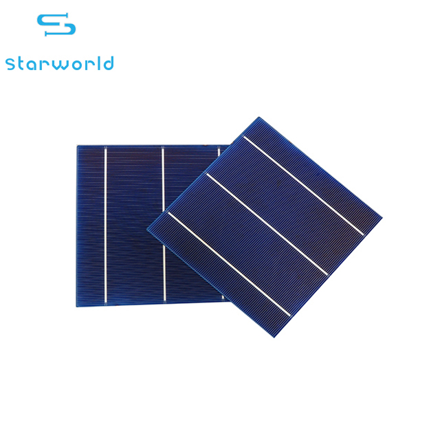 3BB/4BB poly solar cell / 6 inch poly solar panel cells/poly photovoltaic solar cell