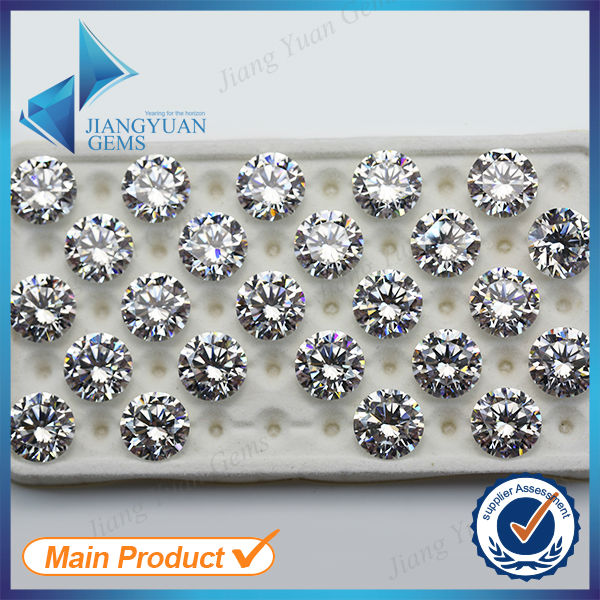 Swiss Star Cut Hearts and Arrows CZ Gems