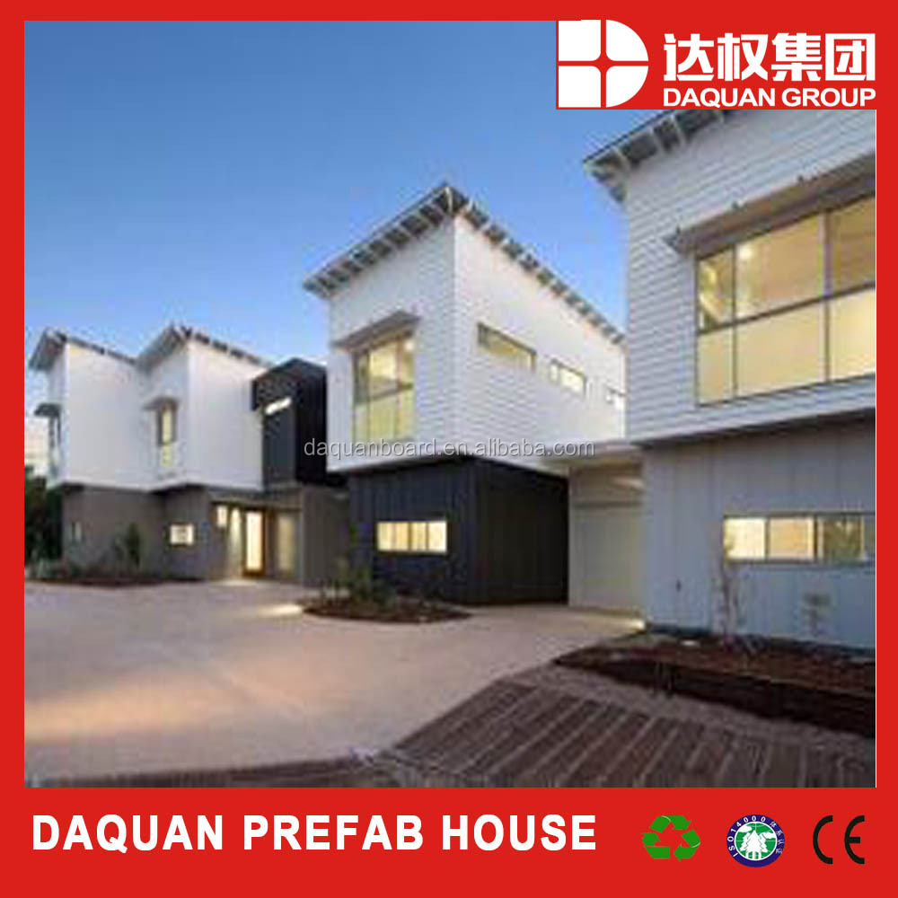 2016 daquan brand and hot seller Slope roof prefabricated Modular house