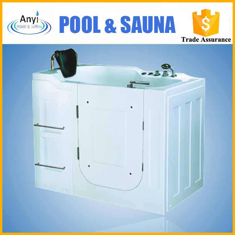 Hot sale acrylic disabled one person bath tub