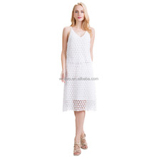 Women's sundress with lace