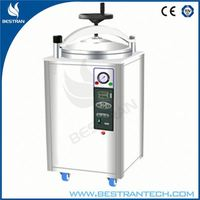 BT-50A medical vertical pressure steam sterilizer portable autoclave single drum stainless steel