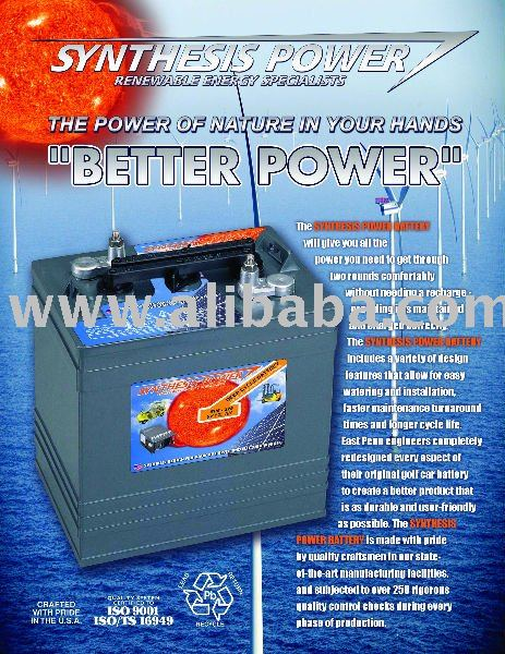 Golf Car Battery Made in USA