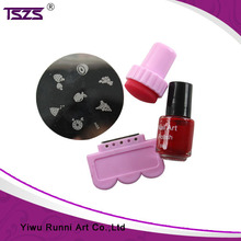 Nail Art Color Machine Set Portable Design DIY Stamp Nail Printer